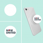PopSocket , PopCase , Now United , Fundo Branco